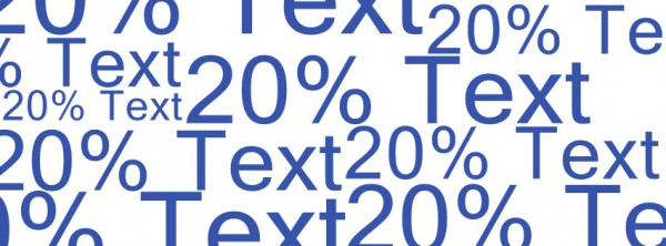20% Text